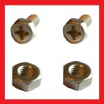 Battery Bolts and Nuts (pair) - Honda CL450